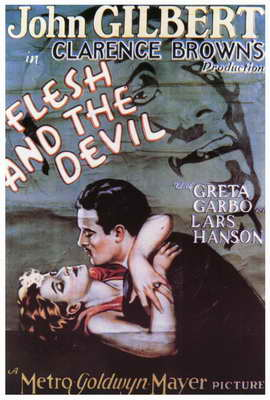 The Flesh and the Devil - 27 x 40 Movie Poster - Style B