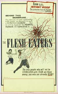 The Flesh Eaters - 27 x 40 Movie Poster - Style B