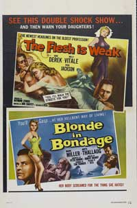 The Flesh Is Weak - 43 x 62 Movie Poster - Bus Shelter Style A