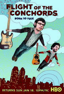Flight of the Conchords, The - 11 x 17 Movie Poster - Style D