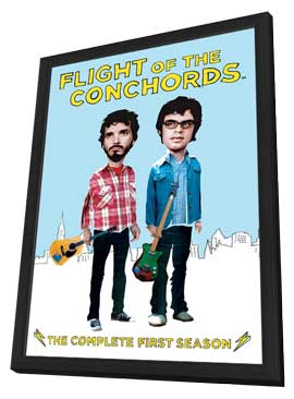 Flight of the Conchords, The - 27 x 40 Movie Poster - Style A - in Deluxe Wood Frame
