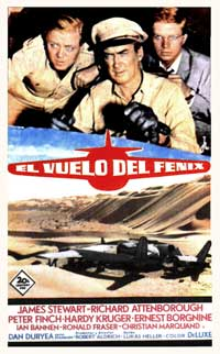 Flight of the Phoenix, The - 11 x 17 Movie Poster - Spanish Style A