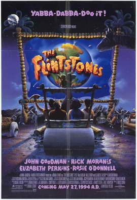 The Flintstones - 27 x 40 Movie Poster - Style A