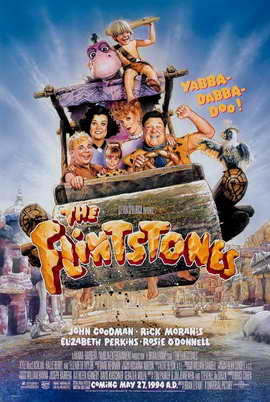 The Flintstones - 27 x 40 Movie Poster - Style C