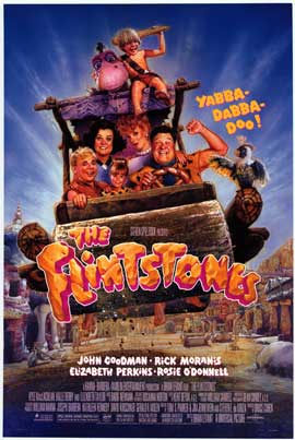 The Flintstones - Movie Poster - Reproduction - 11 x 17 Style B