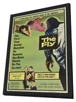 Fly, The - 11 x 17 Movie Poster - Style C - in Deluxe Wood Frame