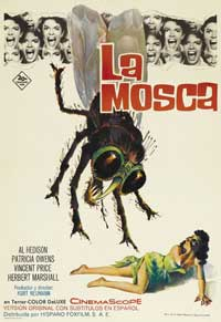 Fly, The - 11 x 17 Movie Poster - Spanish Style B
