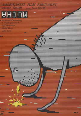 The Fly - 27 x 40 Movie Poster - Polish Style A