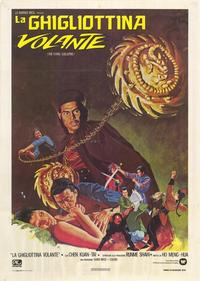 The Flying Guillotine - 39 x 55 Movie Poster - Italian Style A