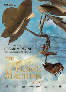The Flying Machine - 11 x 17 Movie Poster - UK Style A