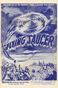The Flying Saucer - 11 x 17 Movie Poster - Style A