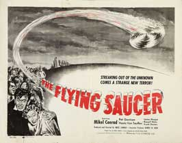 The Flying Saucer - 22 x 28 Movie Poster - Half Sheet Style A