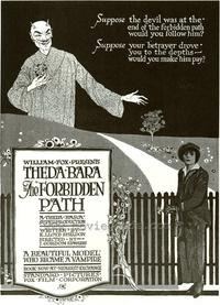 The Forbidden Path - 43 x 62 Movie Poster - Bus Shelter Style A