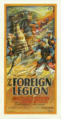 The Foreign Legion - 11 x 17 Movie Poster - Style A