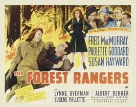 The Forest Rangers - 11 x 17 Movie Poster - Style C
