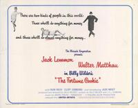 The Fortune Cookie - 11 x 14 Movie Poster - Style A