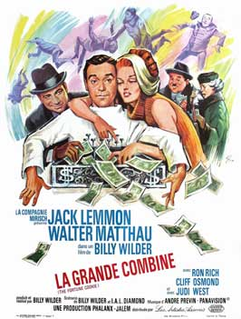 The Fortune Cookie - 11 x 17 Movie Poster - French Style A