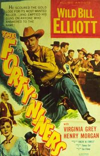 The Forty-Niners - 11 x 14 Movie Poster - Style A
