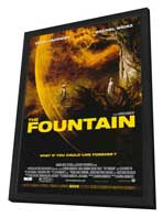 The Fountain - 27 x 40 Movie Poster - Style A - in Deluxe Wood Frame