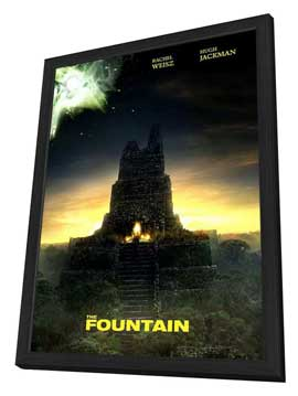 The Fountain - 11 x 17 Movie Poster - Style B - in Deluxe Wood Frame