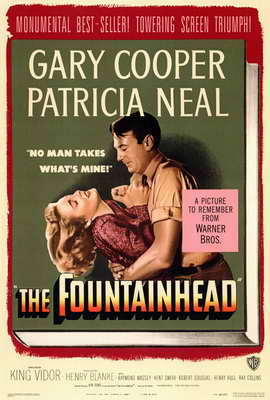 The Fountainhead - 27 x 40 Movie Poster - Style A