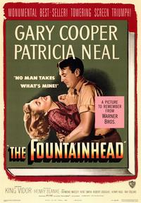 The Fountainhead - 43 x 62 Movie Poster - Bus Shelter Style A