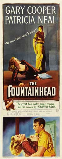 The Fountainhead - 14 x 36 Movie Poster - Insert Style A