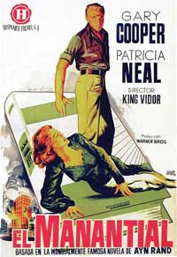 The Fountainhead - 11 x 17 Movie Poster - Spanish Style A