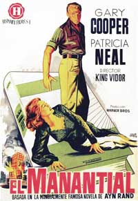 The Fountainhead - 11 x 17 Movie Poster - Spanish Style B