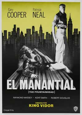 The Fountainhead - 27 x 40 Movie Poster - Spanish Style A