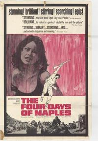 The Four Days of Naples - 27 x 40 Movie Poster - Style A