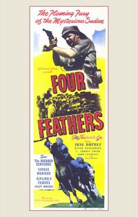 The Four Feathers - 11 x 17 Movie Poster - Style A