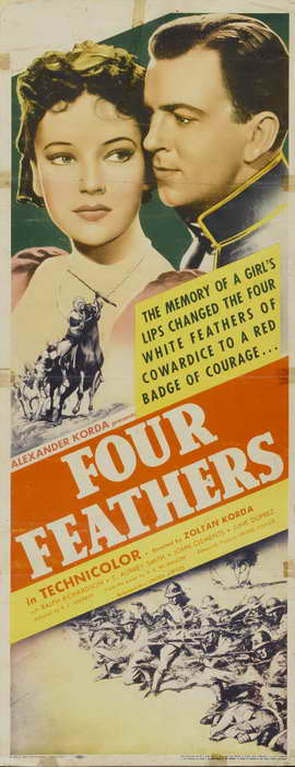 The Four Feathers - 14 x 36 Movie Poster - Insert Style B
