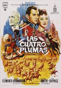 The Four Feathers - 11 x 17 Movie Poster - Spanish Style D