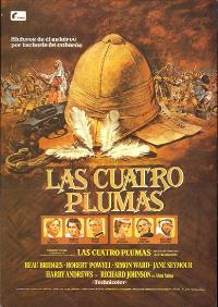 The Four Feathers - 11 x 17 Movie Poster - Spanish Style A