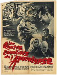 The Four Horsemen of the Apocalypse - 11 x 17 Movie Poster - French Style A
