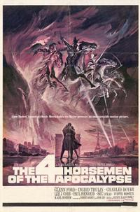 The Four Horsemen of the Apocalypse - 11 x 17 Movie Poster - Style A