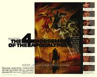 The Four Horsemen of the Apocalypse - 22 x 28 Movie Poster - Half Sheet Style A