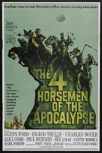 The Four Horsemen of the Apocalypse - 27 x 40 Movie Poster - Style B