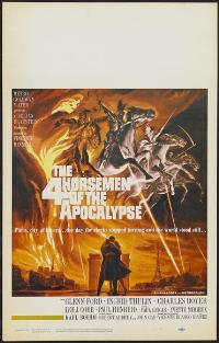 The Four Horsemen of the Apocalypse - 11 x 17 Movie Poster - Style C