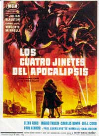 The Four Horsemen of the Apocalypse - 11 x 17 Movie Poster - Spanish Style A