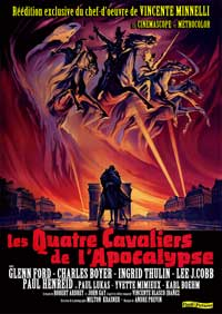 The Four Horsemen of the Apocalypse - 11 x 17 Movie Poster - French Style B