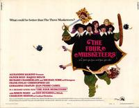 The Four Musketeers - 22 x 28 Movie Poster - Half Sheet Style A