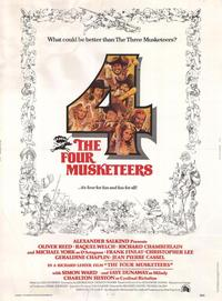 The Four Musketeers - 27 x 40 Movie Poster - Style A