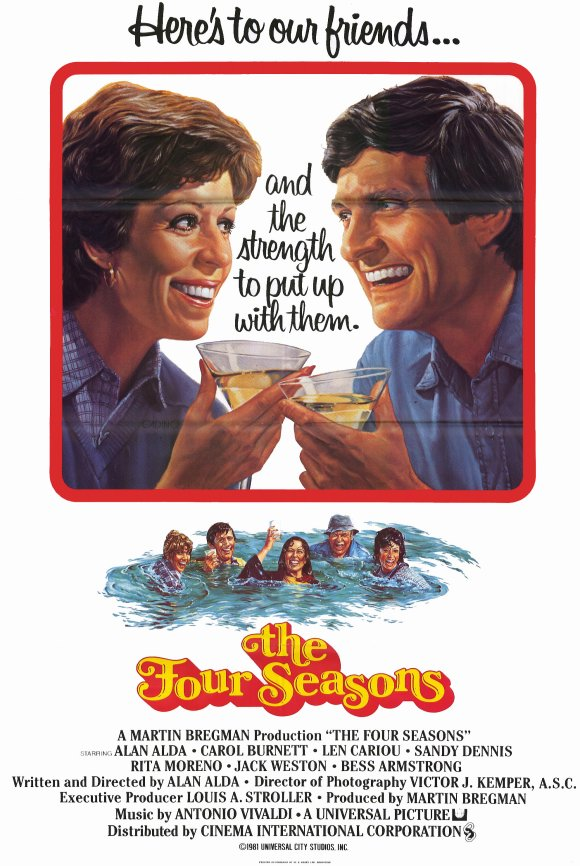 The Four Seasons Movie Posters From Movie Poster Shop