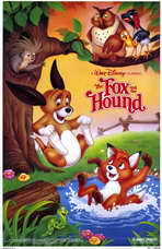 Fox and the Hound, The - 11 x 17 Movie Poster - Style A