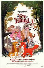 Fox and the Hound, The - 11 x 17 Movie Poster - Style B