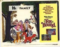 Fox and the Hound, The - 22 x 28 Movie Poster - Half Sheet Style A