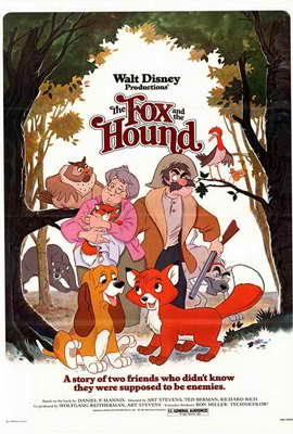 Fox and the Hound, The - 27 x 40 Movie Poster - Style A