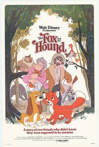 Fox and the Hound, The - 43 x 62 Movie Poster - Bus Shelter Style A